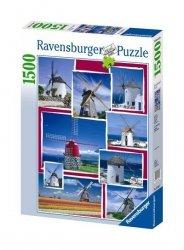 Puzzle 1500 Ravensburger 162628 Wiatraki