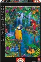 Puzzle 500 Educa 15512 Tropikalny Raj
