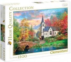 Puzzle 1500 Clementoni 31675 Kościółek - Kolorowa Jesień