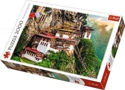 Puzzle 2000 Trefl 27092 Tygrysie Gniazdo w Bhutnie