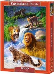Puzzle 1000 Castorland C-103553 Duże Koty