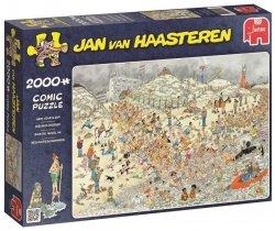 Puzzle 2000 Jumbo 19040 Jan van Haasteren - Noworoczna Kąpiel