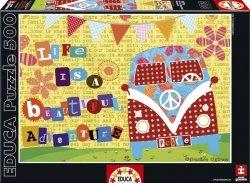 Puzzle 500 Educa 16278 Życie jest Piękne