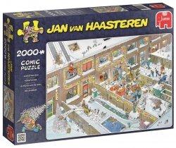 Puzzle 2000 Jumbo 19032 Jan van Haasteren - Wigilia Bożego Narodzenia