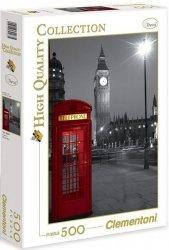 Puzzle 500 Clementoni 30263 Londyn - Budka Telefoniczna