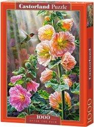 Puzzle 1000 Castorland C-103584 Kwiaty po deszczu