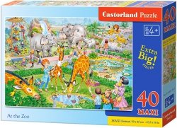 Puzzle 40 Maxi Castorland B-040179 Zoo