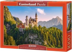 Puzzle 1000 Castorland C-103706 View of the Neuschwanstein Castle - Germany