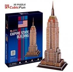 Puzzle 3D CubicFun 39 Empire State Building - C704h