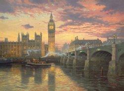 Puzzle 1000 Schmidt 59471 Thomas Kinkade - Wieczór w Londynie