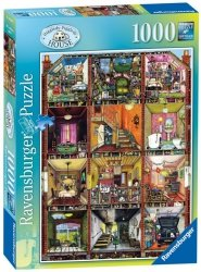Puzzle 1000 Ravensburger 192939 Chaotyczny Dom