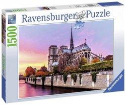 Puzzle 1500 Ravensburger 163458 Malownicze Notre Dame