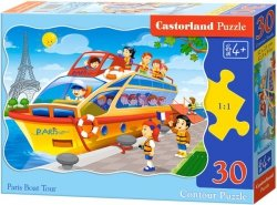 Puzzle 30 Castorland B-03624 Statek w Paryżu