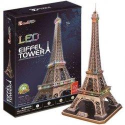 Puzzle 3D CubicFun 82 Wieża Eiffla L091h