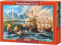Puzzle 1500 Castorland C-151349 Na Morzu - An Adventure to the New World