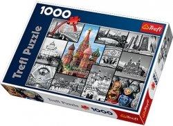 Puzzle 1000 Trefl 10380 Moskwa - Kolaż