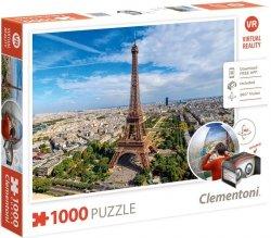 Puzzle 1000 Clementoni 39402 VR - Paryż - Wieża Eiffla