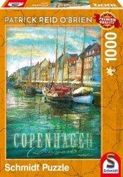 Puzzle 1000 Schmidt 59583 Patrick Reid Obrien - Kopenhaga