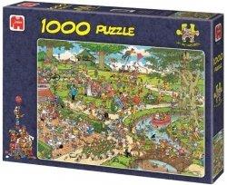 Puzzle 1000 Jumbo 01492 W Parku - Jan van Haasteren