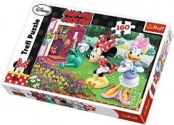 Puzzle 160 Trefl 15328 Myszka Minnie - Podlewanie Kwiatków