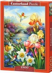 Puzzle 1500 Castorland C-151509 Kwiaty - Irysy - Narcyze