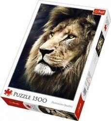 Puzzle 1500 Trefl 26139 Lew - Portret Lwa
