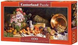 Puzzle 600 Castorland B-060108 Martwa Natura z Kwiatami i Owocami