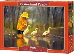 Puzzle 500 Castorland B-52264 Znajomi - Deszczowy Dzień