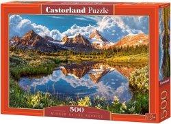 Puzzle 500 Castorland B-52417 Jezioro w Górach - Mirror of the Rockies
