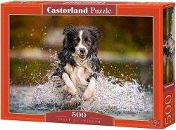 Puzzle 500 Castorland B-52424 Piesek - Taste of Freedom