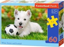 Puzzle 60 Castorland B-06823 Piesek z Piłką