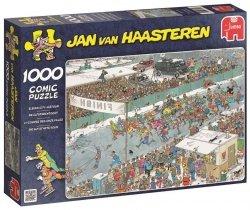 Puzzle 1000 Jumbo 17310 Jan Van Haasteren - Wyścig Jedenastu Miast