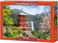 Puzzle 1000 Castorland C-103201 Japonia - Seiganto Temple