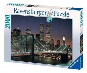 Puzzle 2000 Ravensburger 166091 Nowy York, Manhattan
