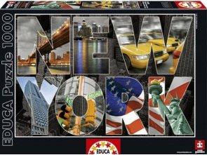 Puzzle 1000 Educa 16288 New York - Kolaż