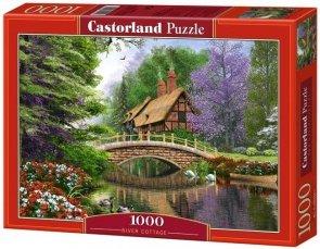 Puzzle 1000 Castorland 102365  River Cottage