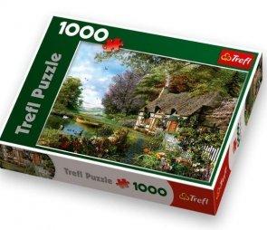 Puzzle 1000 Trefl 10297 Uroczy Zakątek
