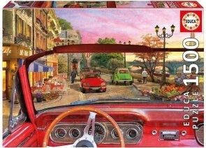 Puzzle 1500 Educa 16768 Auto - Paris in a Car