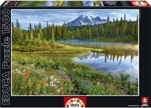 Puzzle 1500 Educa 16309 Odbicie w Jeziorze