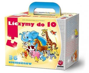 ! Puzzle Gra Układanka Maxim - Liczymy do 10 - G36.02.01