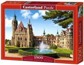 Puzzle 1500 Castorland C-150670 Moszna Castle, Poland
