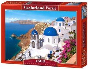 Puzzle 1500 Castorland C-150663 Santorini - Greece
