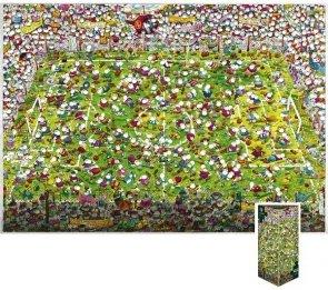 Puzzle 4000 Heye 29072 Crazy World Cup - Mordillo