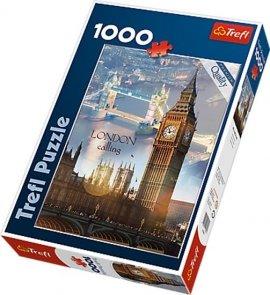 Puzzle 1000 Trefl 10395 Londyn o Świcie