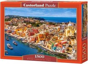 Puzzle 1500 Castorland C-151769 Port Corricella - Włochy