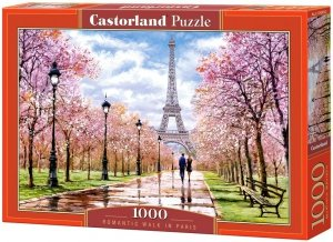 Puzzle 1000 Castorland 104369 Romantyczny Paryż