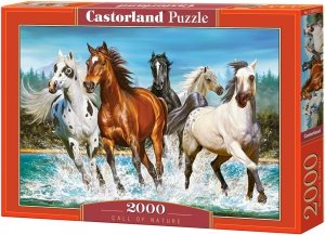Puzzle 2000 Castorland C-200702 Konie