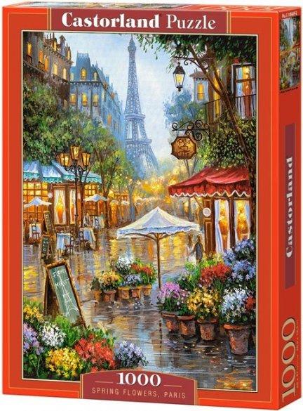 Puzzle 1000 Castorland C-103669 Kwiaciarnia w Paryżu