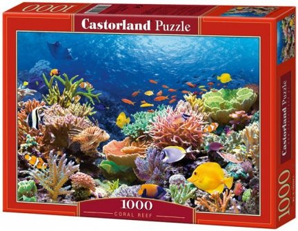 Puzzle 1000 Castorland C-101511 Coral Reef Fishes
