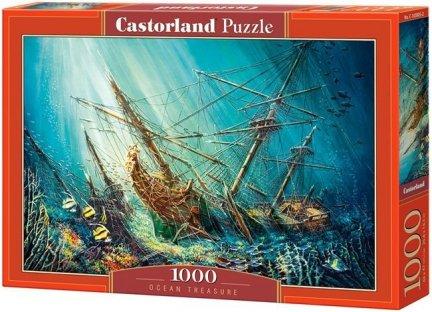 Puzzle 1000 Castorland C-103805 Zatopiony Galeon